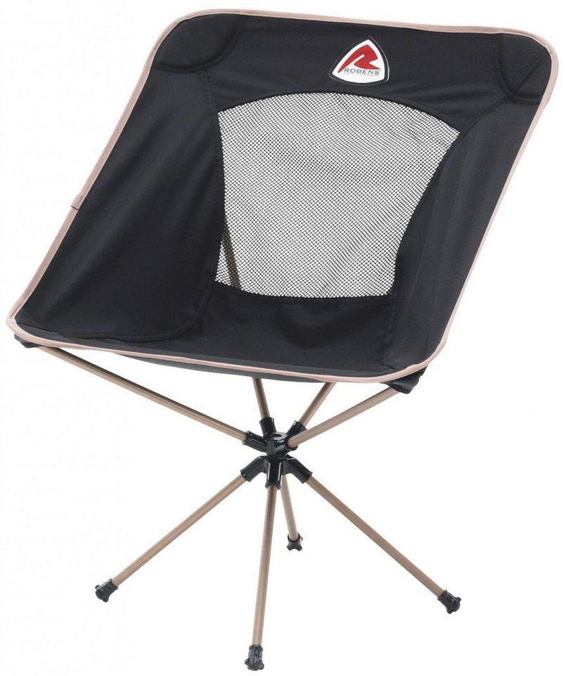 Robens Camping-Stuhl »Pioneer Folding Chair« in schwarz