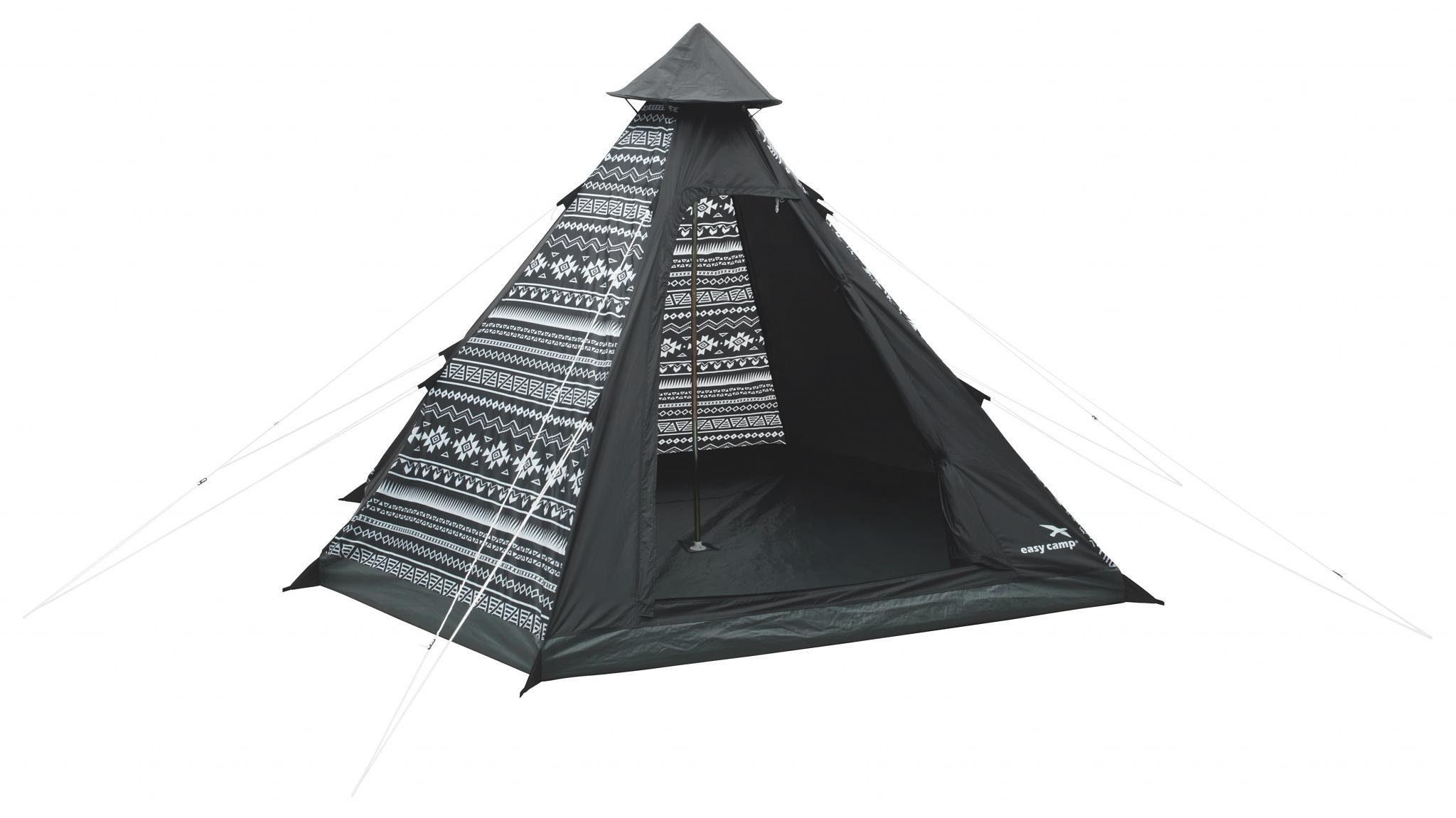 Easy Camp Zelt »Tipi Tribal Black & White Tent«