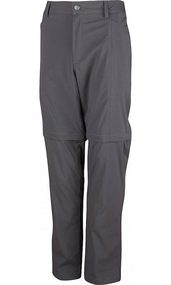 High Colorado Outdoorhose »Chur-2 Trekkinghose Zip Off Herren« in grau