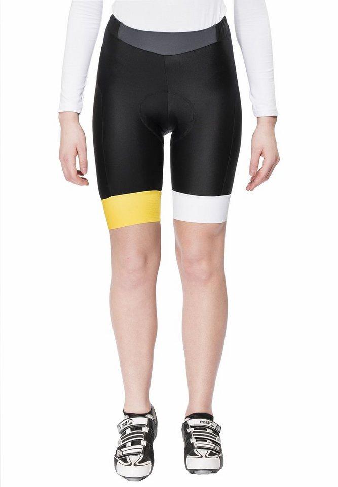 Brügelmann Radhose »Bioracer Classic Race Short Women« in schwarz