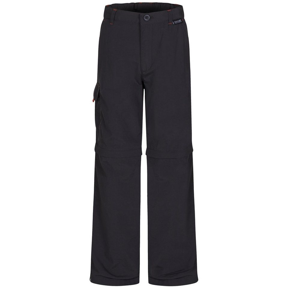Regatta Hose »Sorcer Zip/Off Trousers Kids« in grau