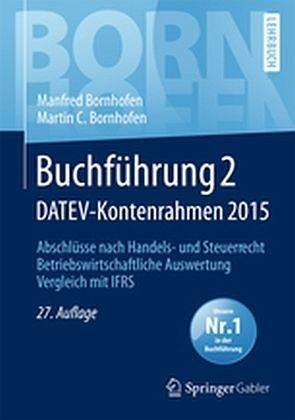 Gebundenes Buch »Buchführung 2 DATEV-Kontenrahmen 2015«