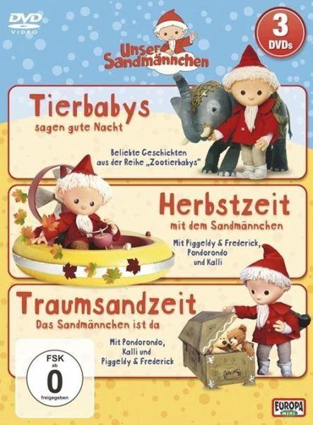 DVD »Unser Sandmännchen - Folgen 4+5+7«