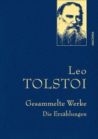 Buch mit Leinen-Einband »Leo Tolstoi - Gesammelte Werke. Die Erzählungen«