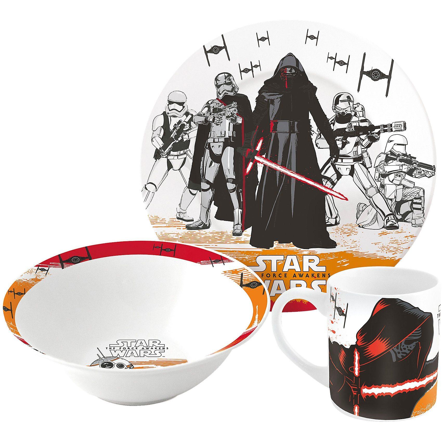 P:OS Kindergeschirr Keramik Star Wars, 3-tlg.