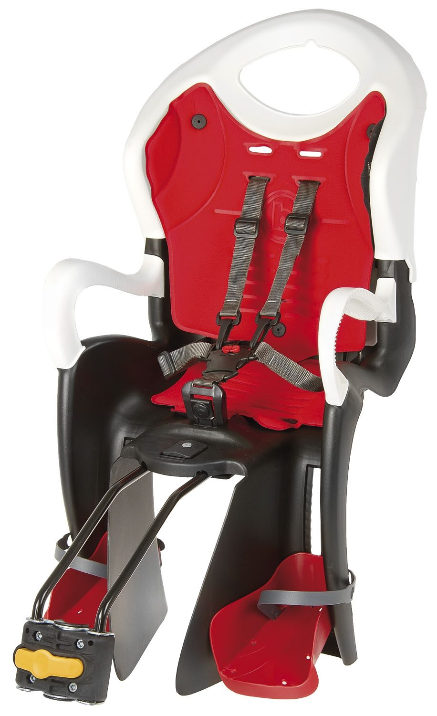 Bellelli Kindersitz mit höhenverstellbarer Rückenlehne, Sitzrohrbefestigung