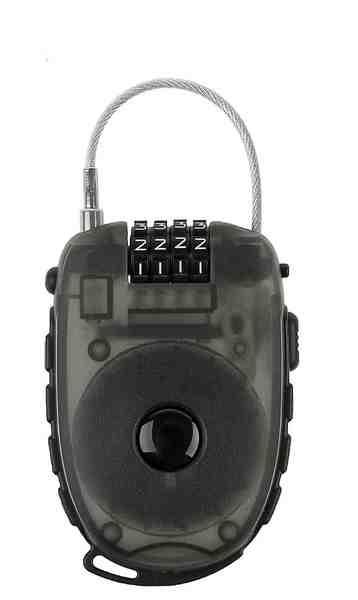M-Wave Zahlenkabelschloss »Lock `n` Roll D 24.9«