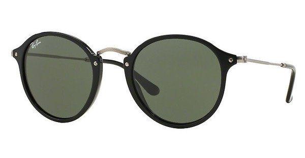 RAY-BAN Herren Sonnenbrille » RB2447« in 901 - schwarz/grün