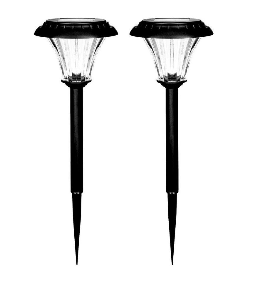 Duracell LED Solar Gartenlampe 2er Pack »GL001BP2DU 15 Lumen«