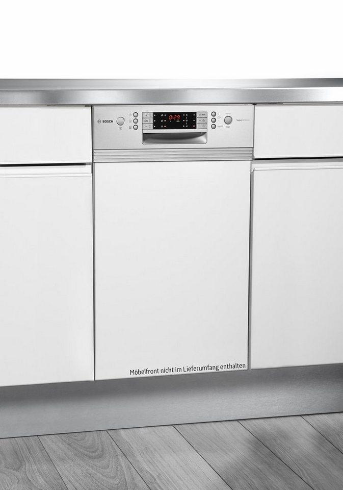Bosch integrierbar Einbaugeschirrspüler SPI69T75EU, A++, 9,5 Liter, 10 Maßgedecke