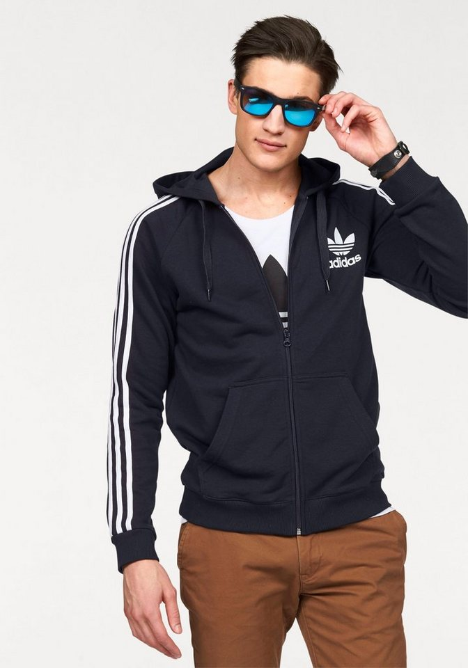 adidas Originals Kapuzensweatjacke in marine