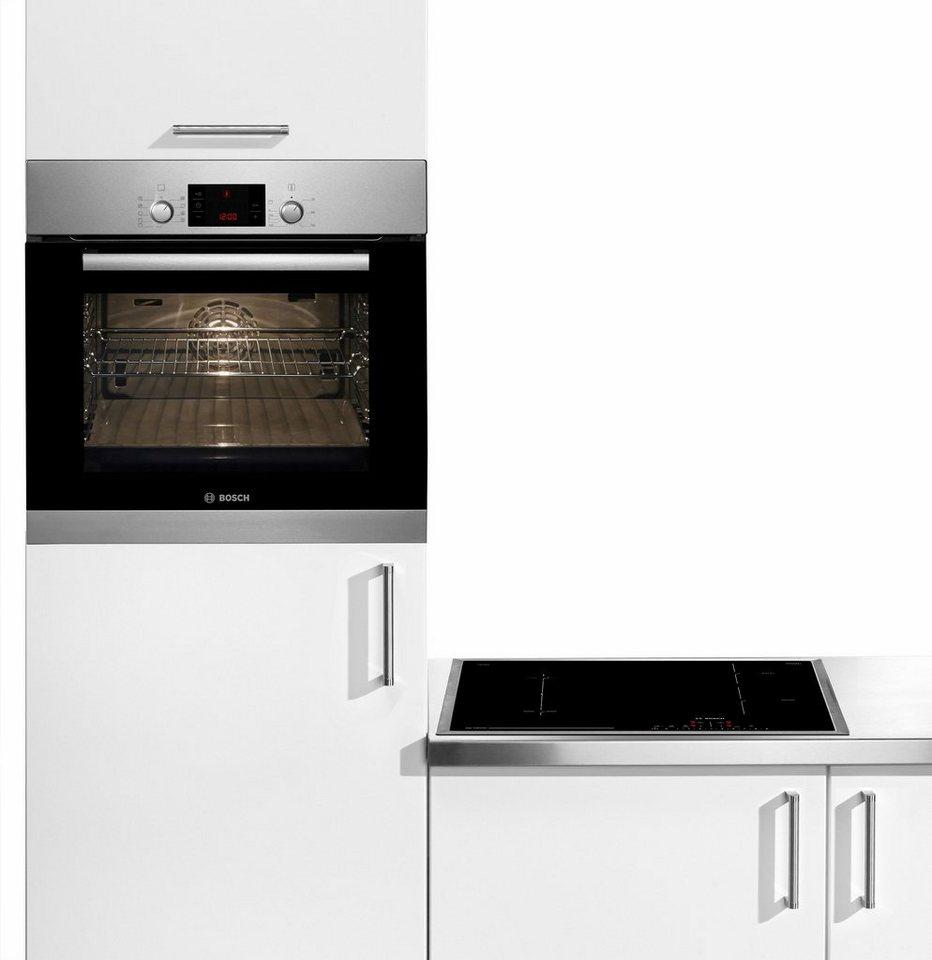Bosch Induktions-Backofen-Set HBD31PC51, Energieklasse A in Edelstahl