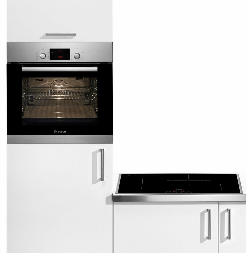 Bosch Flex-Induktions-Backofen-Set HBD38PC51, Energieklasse A in Edelstahl