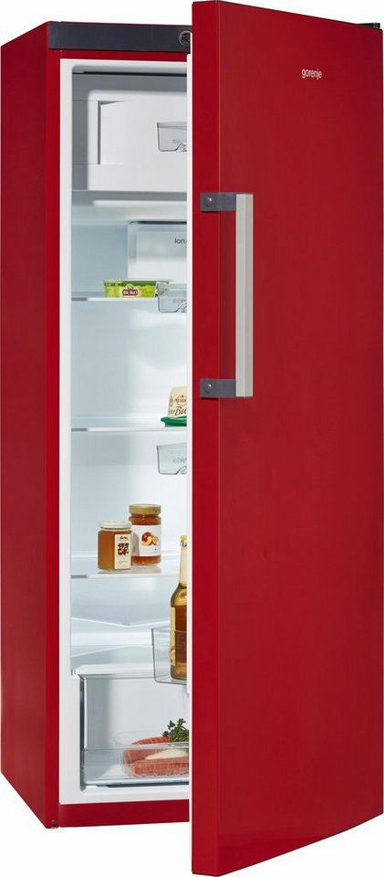 Gorenje Kühlschrank RB6153BR, Energieklasse A+++, 145 cm hoch in weinrot