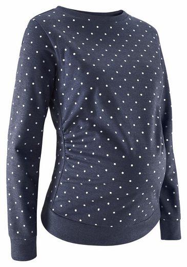 Monate Neun Monate Umstandssweatshirt Mit Pünktchen Neun Mit Umstandssweatshirt ISvrOw1qSx