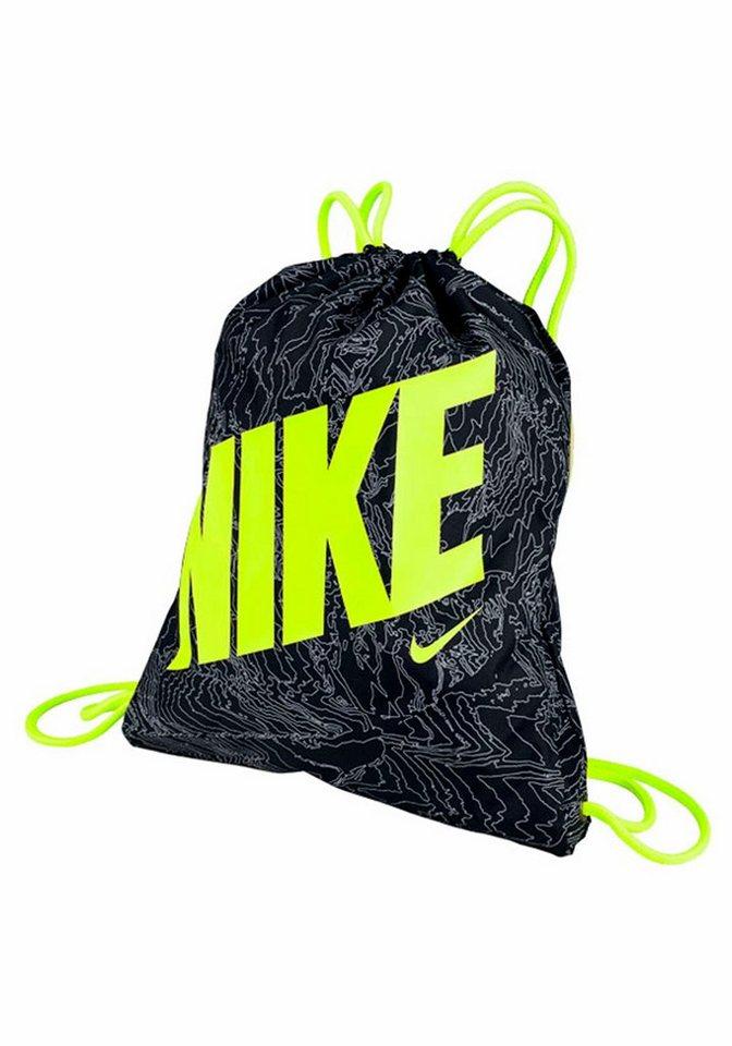 Nike Turnbeutel »YA GRAPHIC GYMSACK« in schwarz-gelb