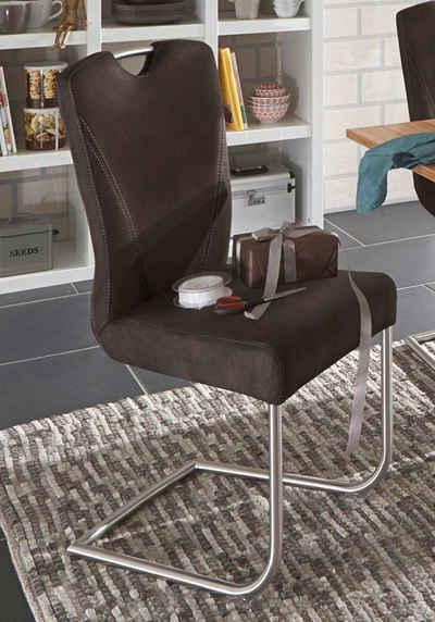 stuhl freischwinger leder edelstahl ikea dekoration bild. Black Bedroom Furniture Sets. Home Design Ideas