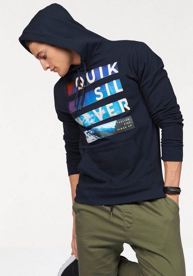 Quiksilver Kapuzensweatshirt in marine