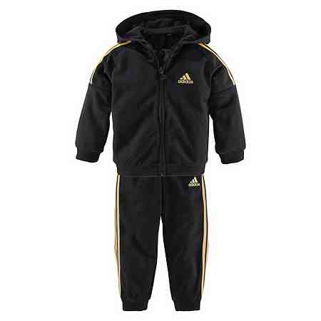 adidas Performance Trainingsanzug »INFANTS SHINY FULL ZIP HOODIE TRACKSUIT«