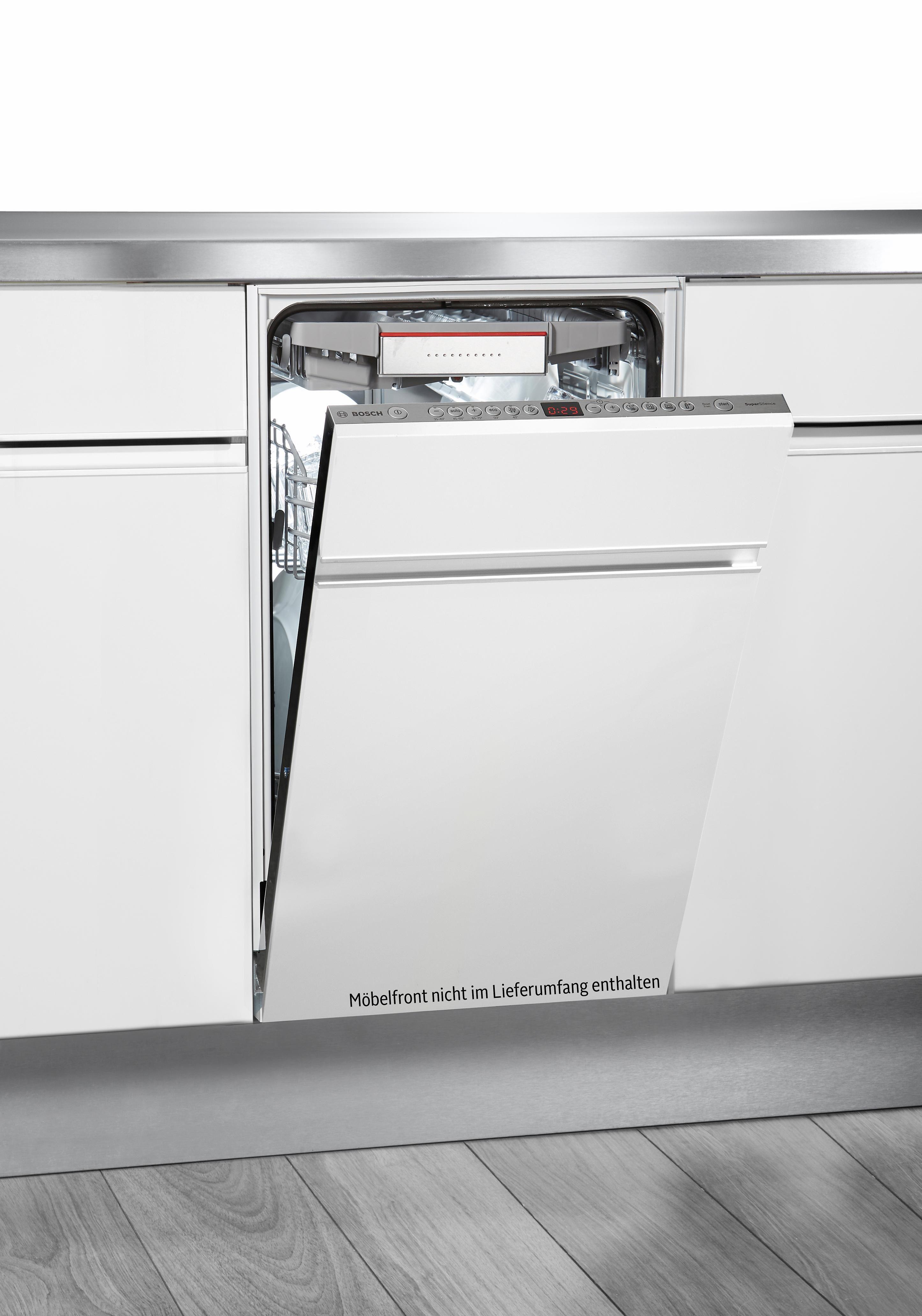 Bosch vollintegrierbar Einbaugeschirrspüler SPV69T70EU, A++, 9,5 Liter, 10 Maßgedecke