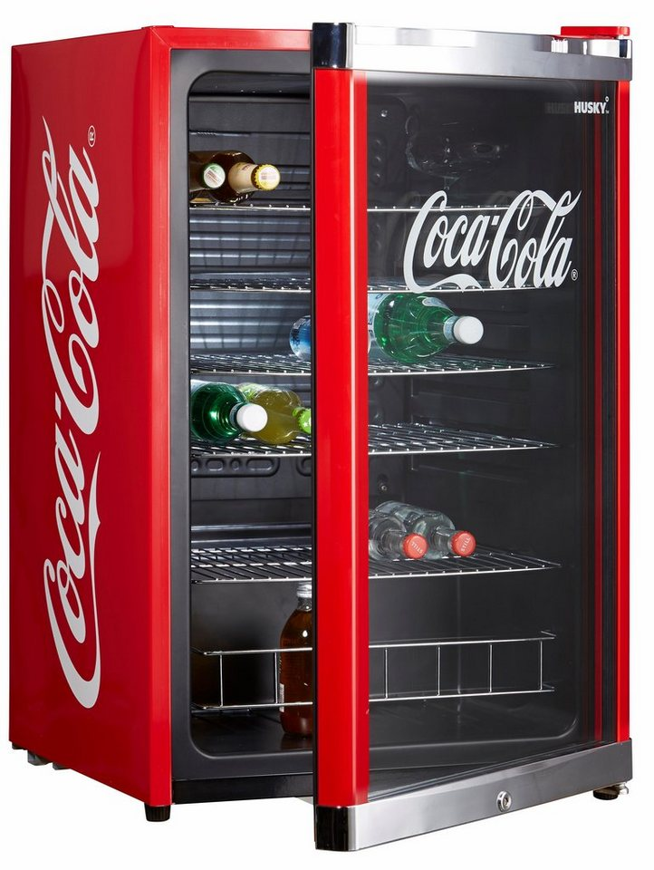 husky k hlschrank highcube coca cola a 83 5 cm hoch. Black Bedroom Furniture Sets. Home Design Ideas