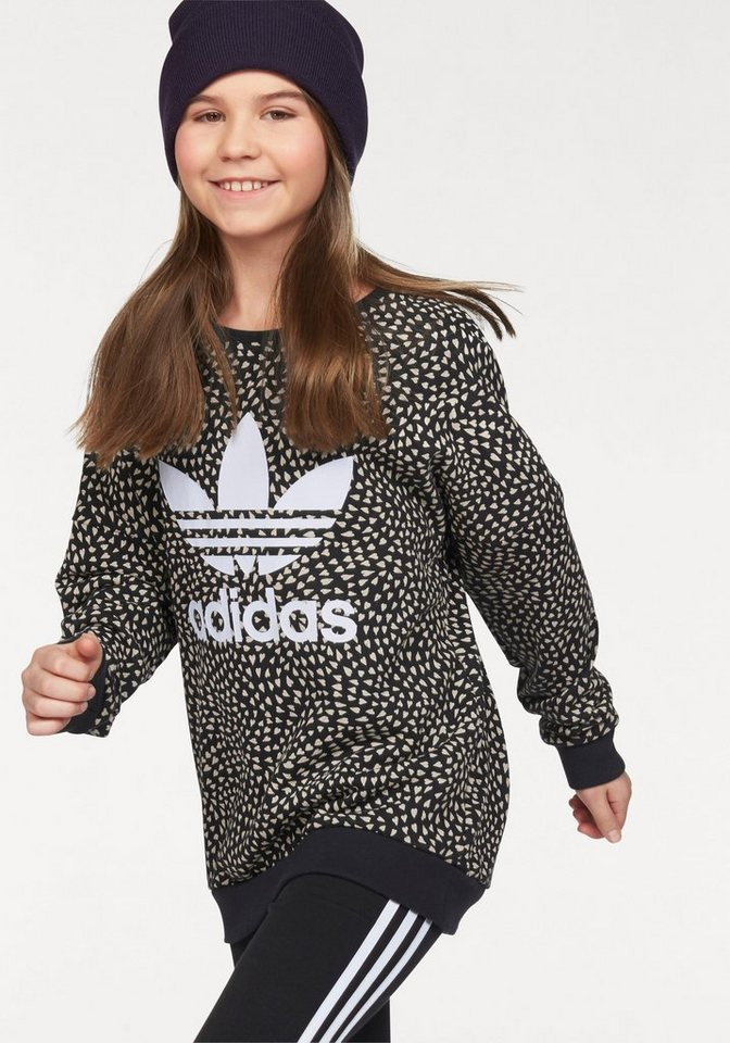 adidas Originals Sweatshirt in schwarz-sand