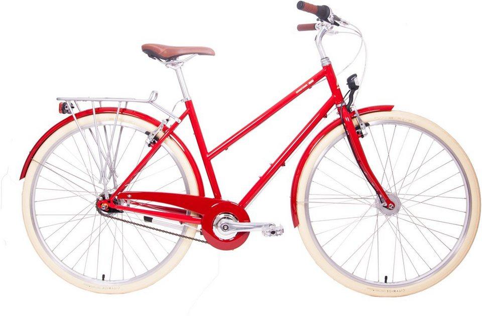 breezer damen trekkingbike 28 zoll 7 gang shimano. Black Bedroom Furniture Sets. Home Design Ideas