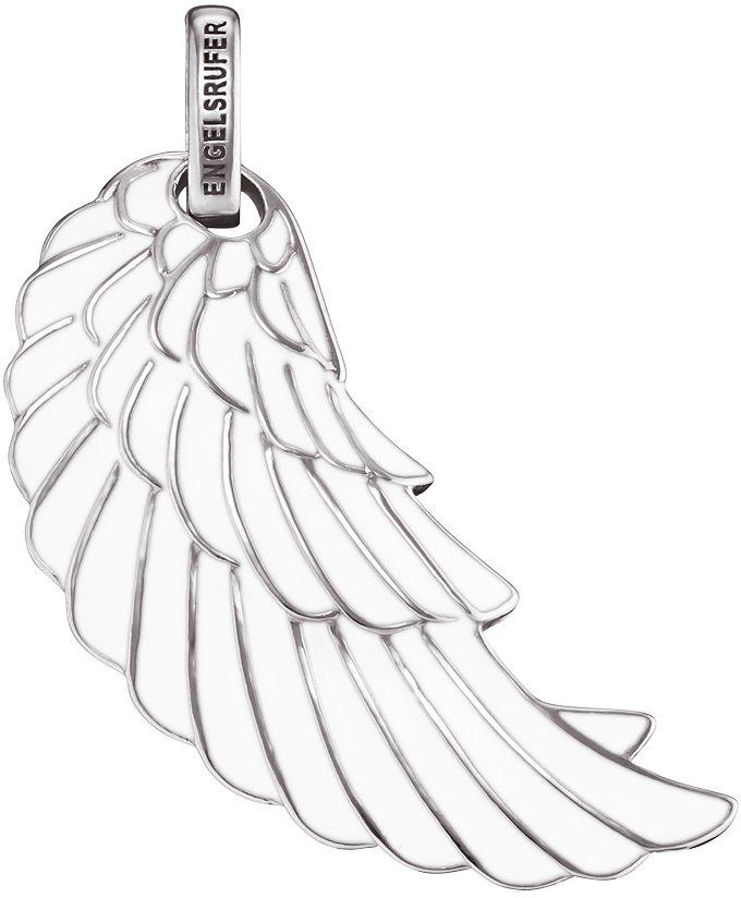 Engelsrufer Anhänger, »Flügel, ERW-L2-ENW« in Silber 925-weiß