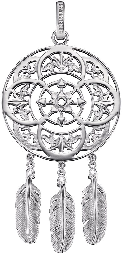 Engelsrufer Anhänger, »Native, ERP-NATIVE« in Silber 925