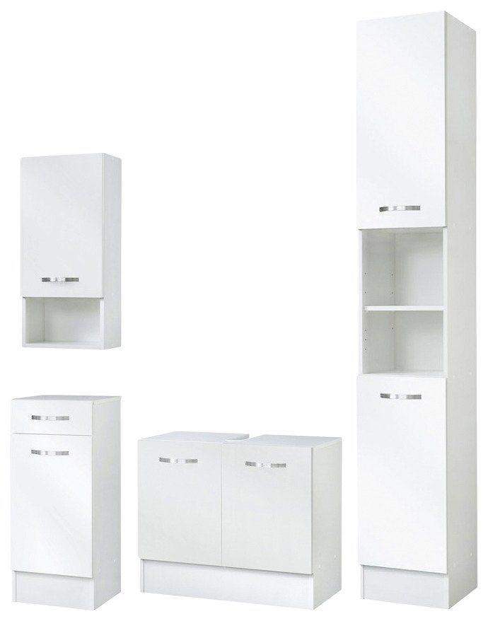 Badmöbel-Set »Como«, 4-tlg. in weiß
