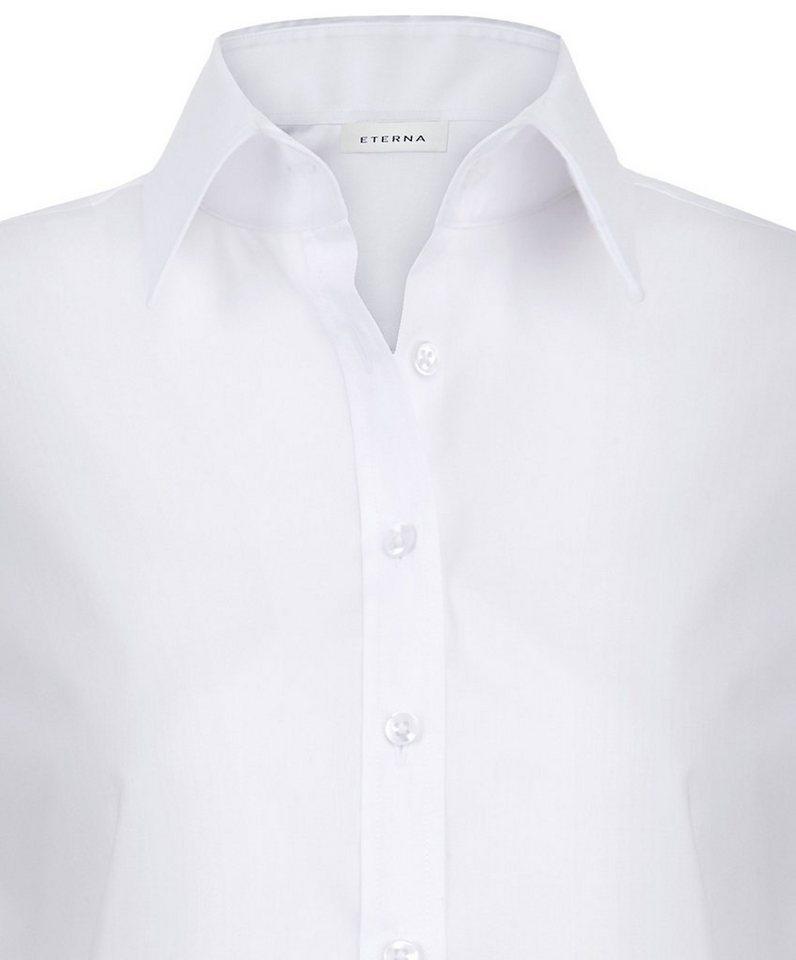 ETERNA 1/1-Arm Bluse »COMFORT FIT« in weiß