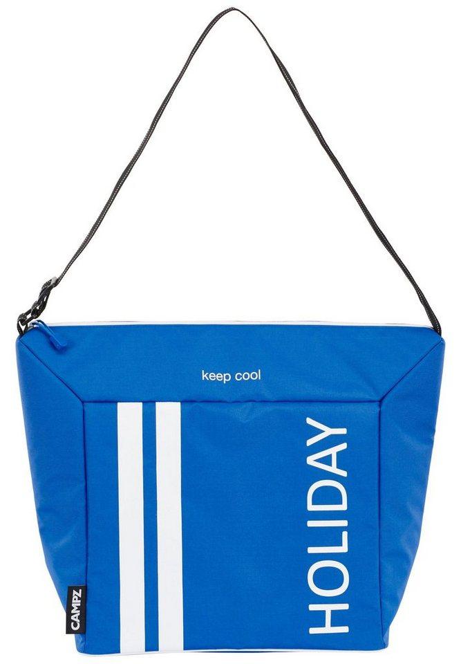 CAMPZ Campingkühlbox & -Tasche »Soft Kühltasche 26 L« in blau