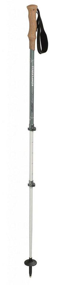 Komperdell Wanderstock »Ridgehiker Cork Powerlock Poles« in grau