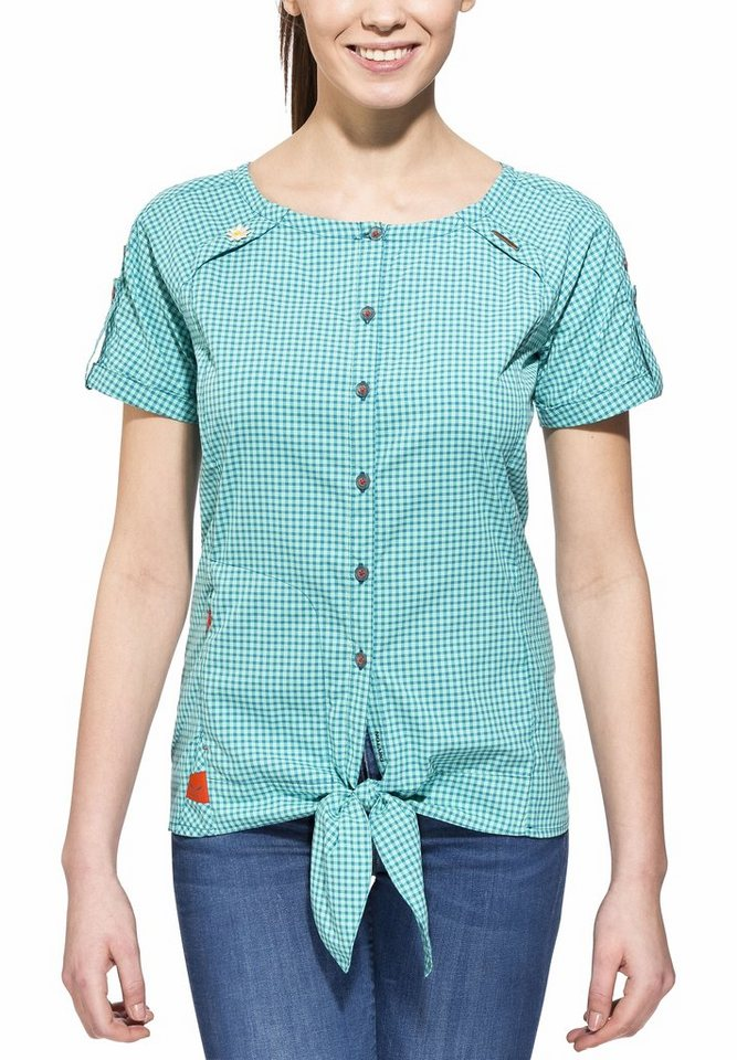 Salewa T-Shirt »Landro S/S Shirt Women Dry« in türkis