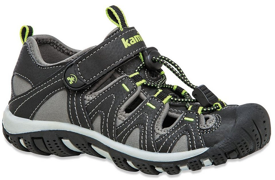 Kamik Sandalen »Moorings Shoes Kids« in schwarz