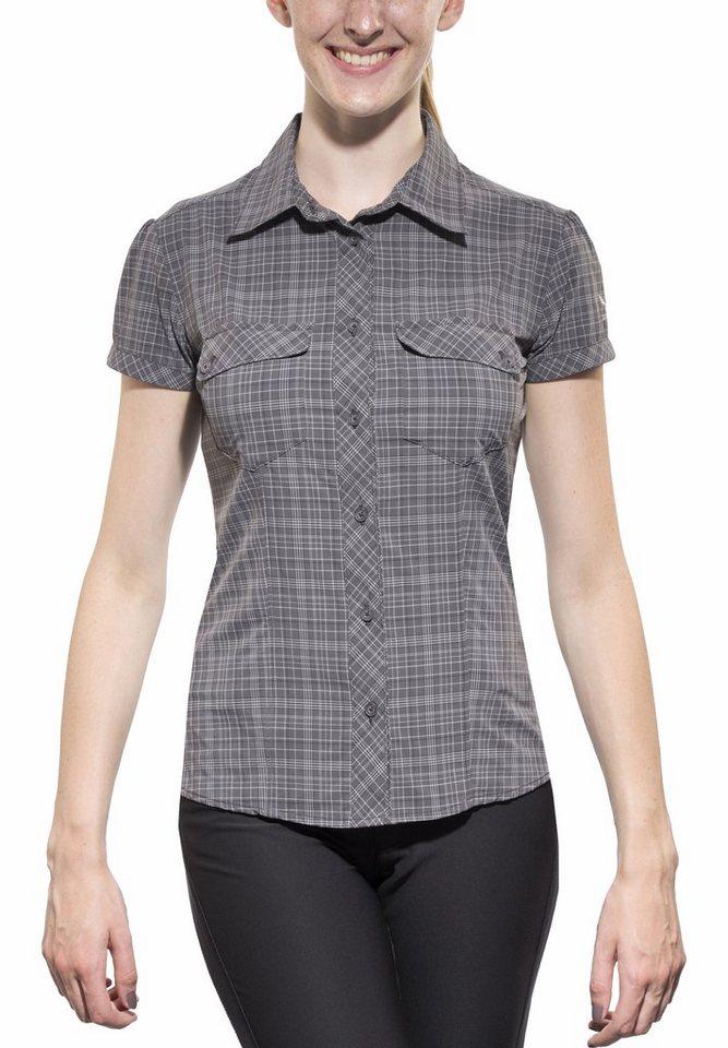 Salewa Bluse »Kitaa 2.0 S/S Shirt Women« in grau