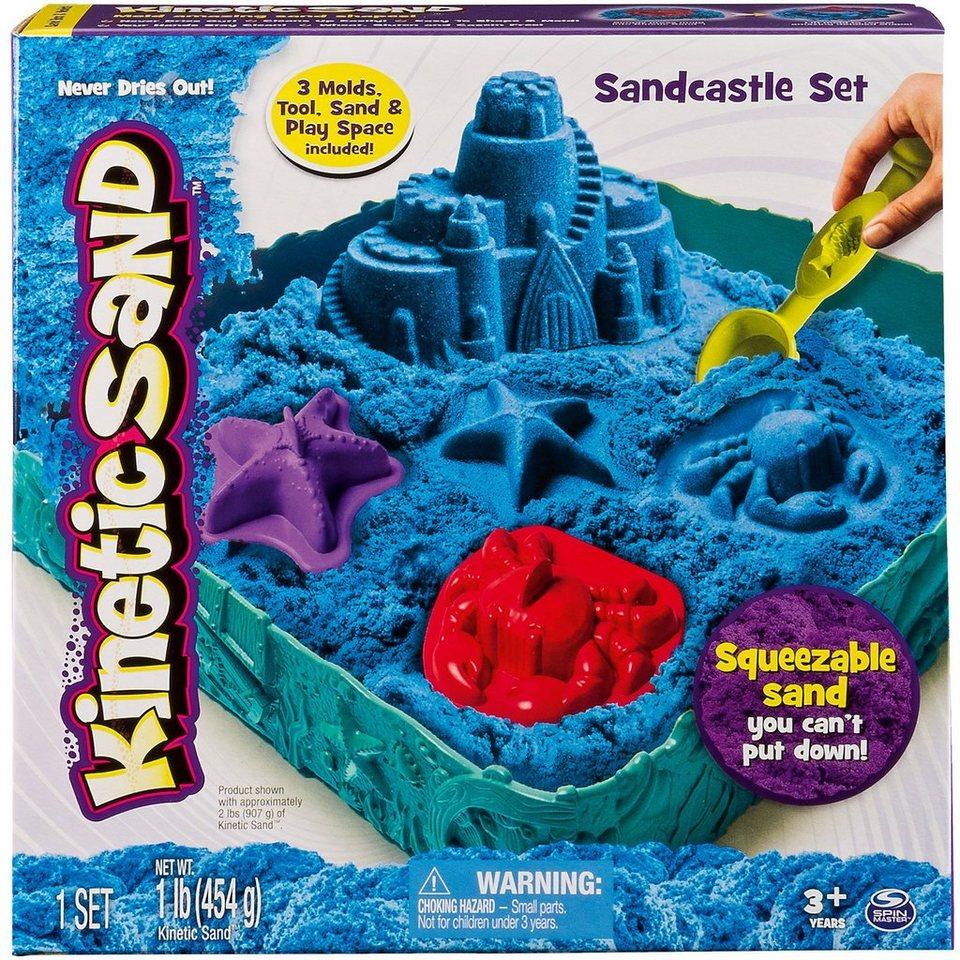 Spin Master Kinetic Sand Box Set, blau