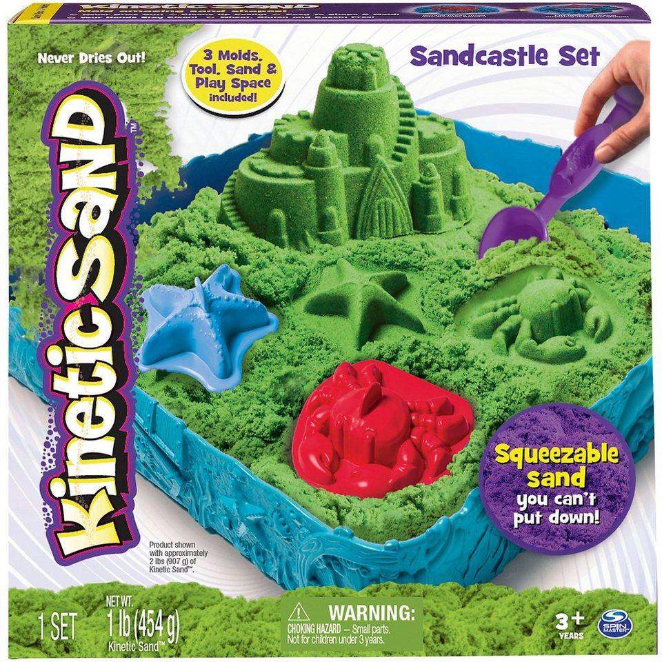 Spin Master Kinetic Sand Box Set, grün