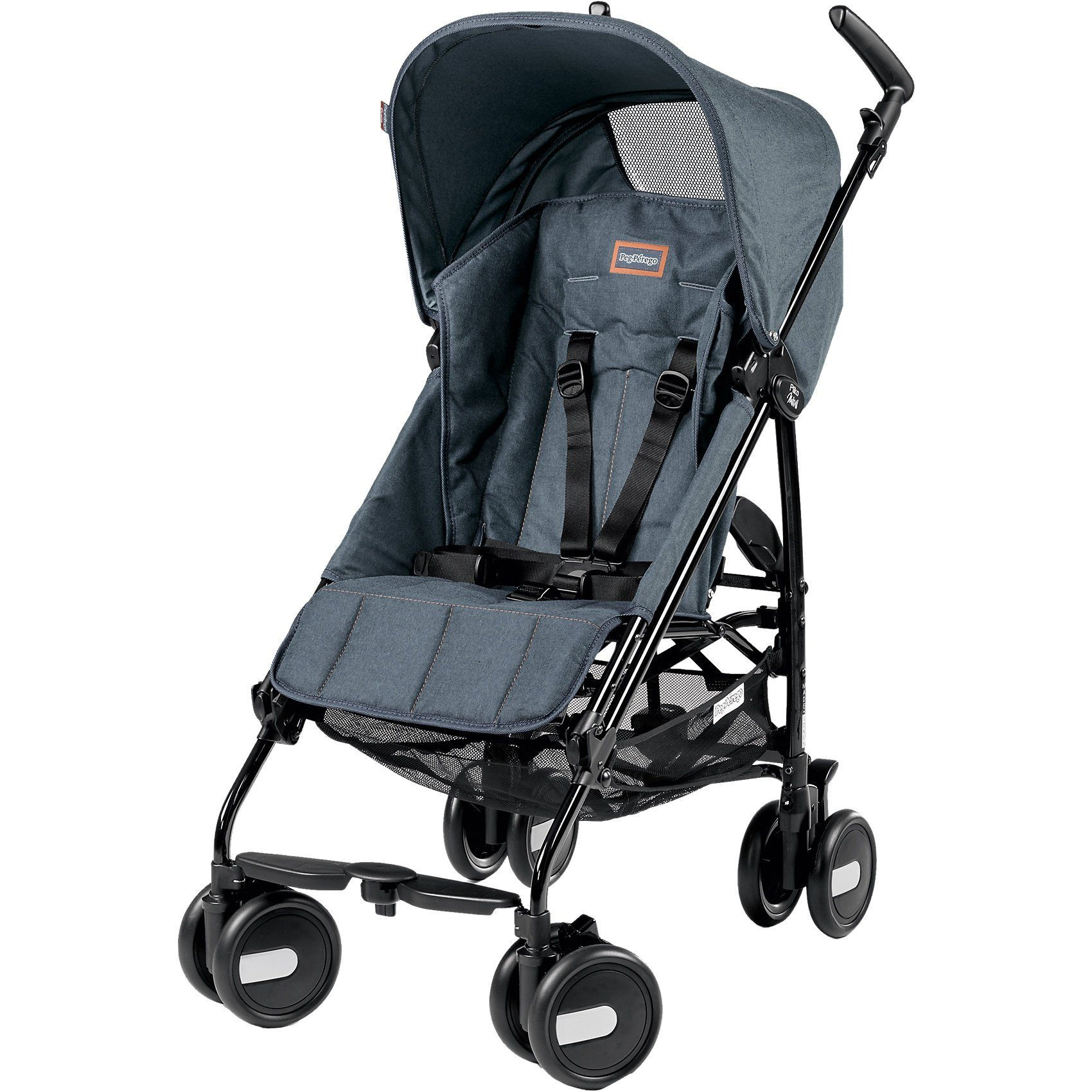 Peg Perego Buggy Pliko Mini Classico, Blue Denim, 2016