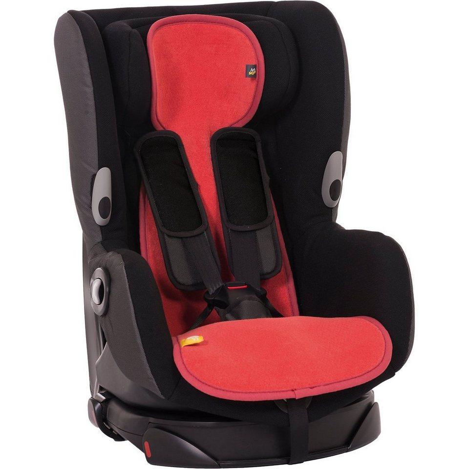 Sitzeinlage AeroMoov air layer für Auto-Kindersitz Gr. 1, Ko in rot