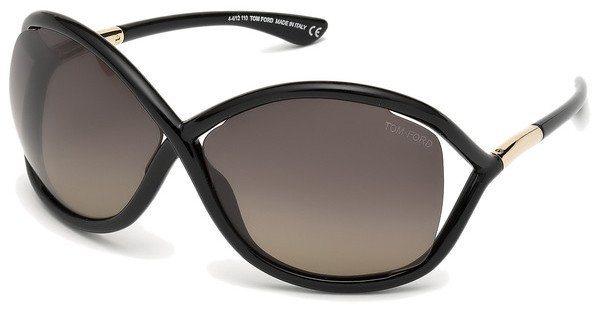 Tom Ford Damen Sonnenbrille »Whitney FT0009« in 01D - schwarz/grau