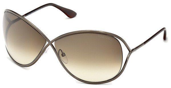 Tom Ford Damen Sonnenbrille »Miranda FT0130« in 36F - braun/braun