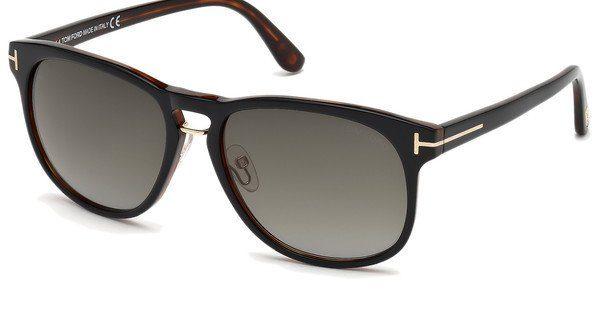 Tom Ford Herren Sonnenbrille »Franklin FT0346«, braun, 56N - braun/grün