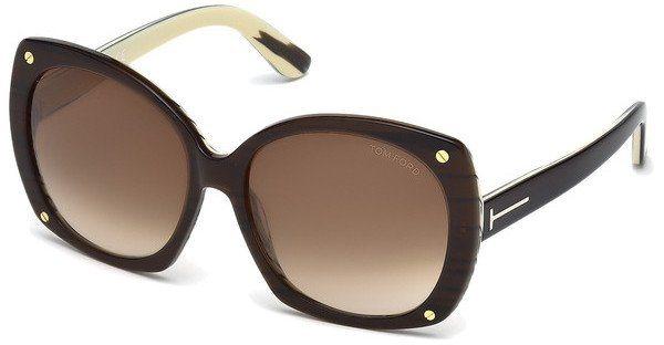 Tom Ford Damen Sonnenbrille »Gabriella FT0362« in 50F - braun/braun