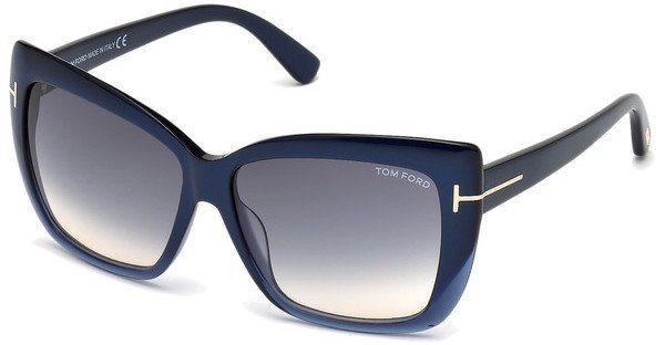 Tom Ford Damen Sonnenbrille »Irina FT0390« in 89W - blau/blau