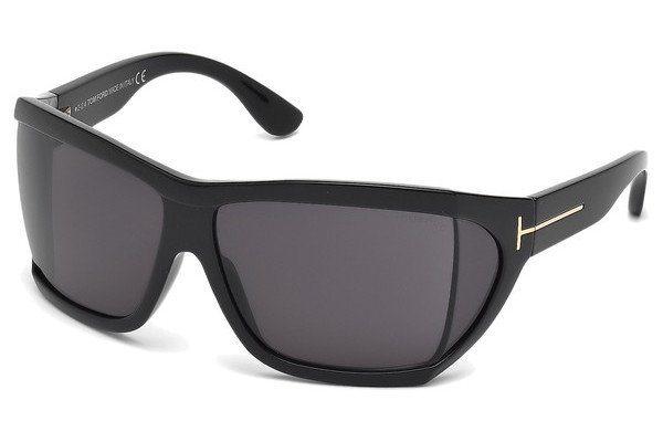 Tom Ford Damen Sonnenbrille »Sedgewick FT0402« in 01A - schwarz/grau