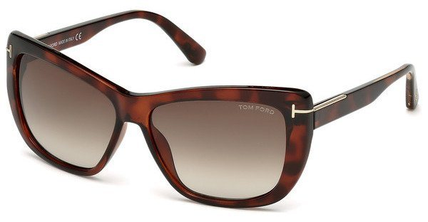 Tom Ford Damen Sonnenbrille »Linsday FT0434« in 52K - braun/braun
