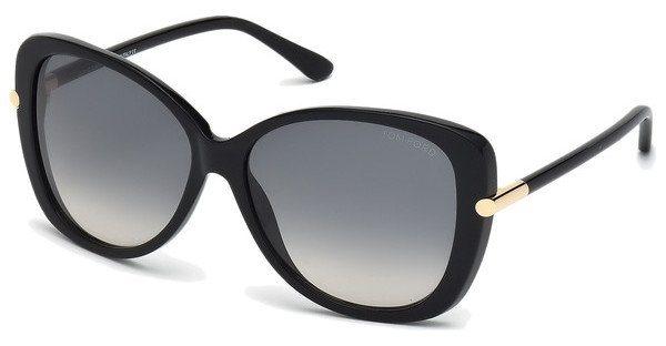 Tom Ford Damen Sonnenbrille » FT9324« in 01B - schwarz/grau