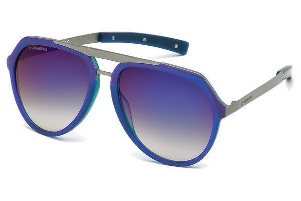 Dsquared² Sonnenbrille » DQ0214« in 92B - blau/grau
