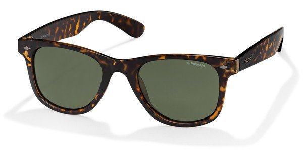 Polaroid Herren Sonnenbrille » PLD 1016/S« in V08/H8 - braun/grün